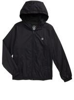 Volcom Boy's Ermont Hooded Nylon Jacket
