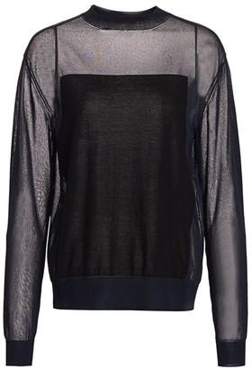 Nina Ricci Paneled Sweater