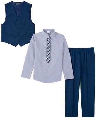 Van Heusen Boys 8-20 Button-Up Shirt, Vest, Pants & Tie Set