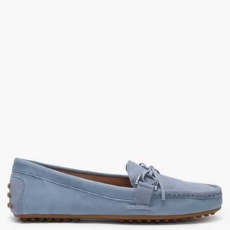 Lauren By Ralph Lauren Briley II Blue Suede Loafers