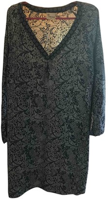 Stella Forest Blue Silk Dress for Women