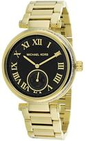 Michael Kors MK5989 Women's Skylar Gold Stainless Steel Watch w/ Crystal Accents