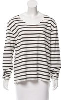 Anine Bing Striped Long Sleeve Top