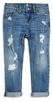 7 For All Mankind Girls' Skinny Cropped Jeans - Big Kid
