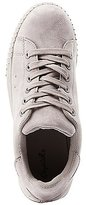 Charlotte Russe Qupid Faux Suede Lace-Up Sneakers