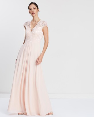 Alabaster The Label Laced With Romance Dress
