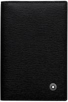 Montblanc Westside Leather Business Card Holder, Black