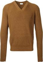 Lemaire ribbed trim jumper - men - Cotton - S
