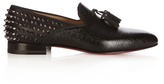 Christian Louboutin Tassilo Studded Leather Loafers
