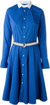 Polo Ralph Lauren flared shirt dress - women - Cotton/Polyamide/Spandex/Elastane - 4