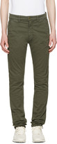 Nudie Jeans Green Slim Adam Trousers