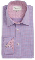 Ted Baker Pacific Trim Fit Check Dress Shirt
