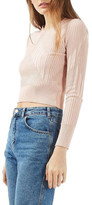 Topshop Variegated Rib Sweater