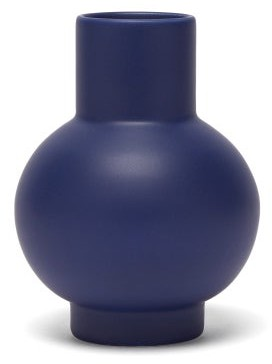 Raawii - Strm Small Ceramic Vase - Blue