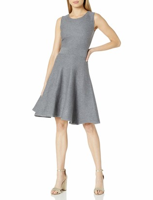 Catherine Malandrino Women's Trisha Dress Grey L