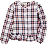 Lucky Brand Parker Plaid Top (Big Girls)