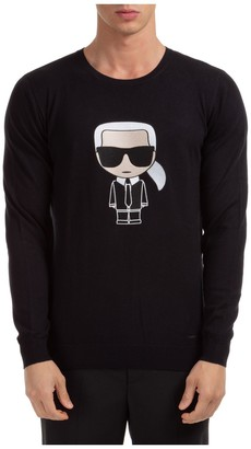 Karl Lagerfeld Paris Ikonik Crewneck T-Shirt