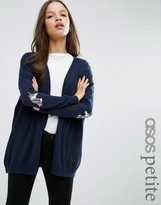 Asos Swing Cardigan with Unicorn Elbow Patch