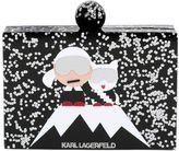 Karl Lagerfeld Holiday Iceberg Glitter Box Clutch