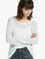 Lucky Brand All Over Stitch Pullover