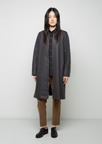 MM6 MAISON MARGIELA Wool Zip Front Coat