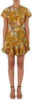 Zimmermann Women's Tropicale Lattice A-Line Dress-BROWN