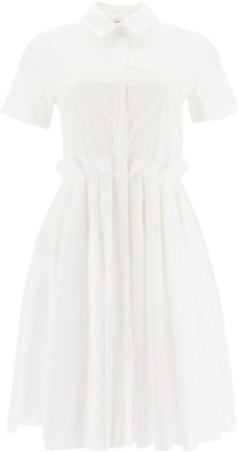 Alexander McQueen Waist-Detailed Shirt Dress