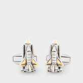 Paul Smith Men's Space Shuttle Cufflinks