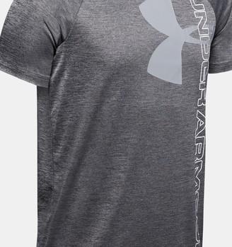 Under Armour Boys' UA Tech Split Logo Hybrid