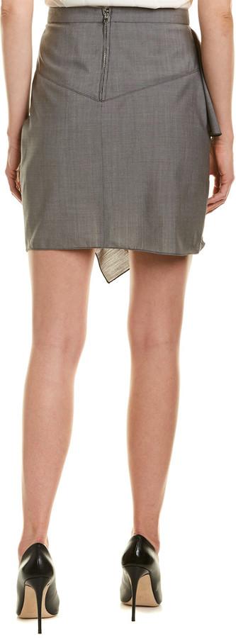 Thumbnail for your product : Isabel Marant Etoile Ruffle Trim Mini Skirt