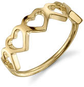 Sarah Chloe Love Count Multi Heart Ring