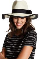 Michael Stars Grosgrain Paper Straw Hat