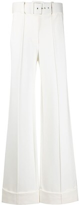 Victoria Victoria Beckham High-Waisted Wide-Leg Trousers