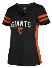 '47 Women's San Francisco Giants Turnover V-Neck T-Shirt