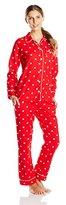 Bottoms Out Women's Cotton Flannel Pajama Set