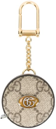 Gucci Ophidia GG measuring tape keychain