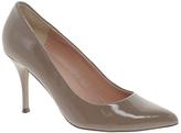 Aimee Grey Patent Heeled Shoe