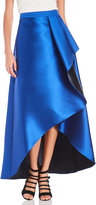 Badgley Mischka Two-Tone Ruffle Skirt