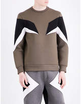 Neil Barrett Military Modernist Neoprene Sweatshirt