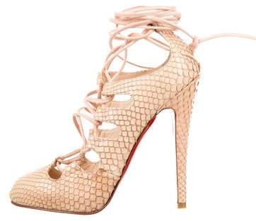 04a5be004435f Lace Up Louboutin Shoes - ShopStyle