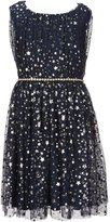 Xtraordinary Big Girls 7-16 Foiled Star Fit-And-Flare Dress