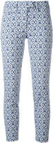 Dondup Perfect patterned trousers