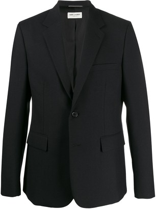 Saint Laurent Single-Breasted Blazer