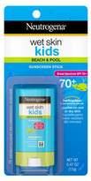 Neutrogena Wet Skin Kids Sunscreen Stick, SPF 70