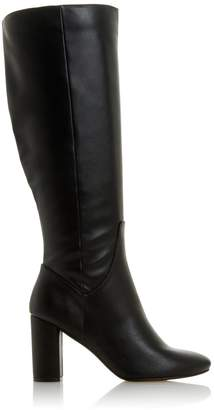 Dorothy Perkins Womens *Head Over Heels By Dune Black 'Shyana' Knee High Boots, Black