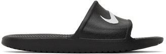 Nike Black Kawa Slides