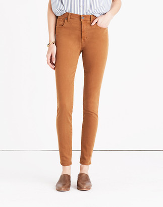 "Madewell 9"" High-Rise Skinny Jeans: Garment-Dyed Edition"