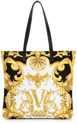 Versace Palazzo Nylon Rodeo Queen Tote