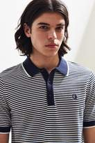 Fred Perry Fine Stripe Knit Polo Shirt