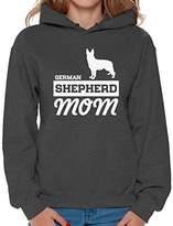 Awkward Styles Women's German Shepherd Mom Graphic Hoodie Tops Dog Lover